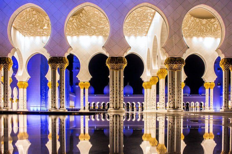Sheikh Zayed Grand Mosque. - East End Taste Magazine
