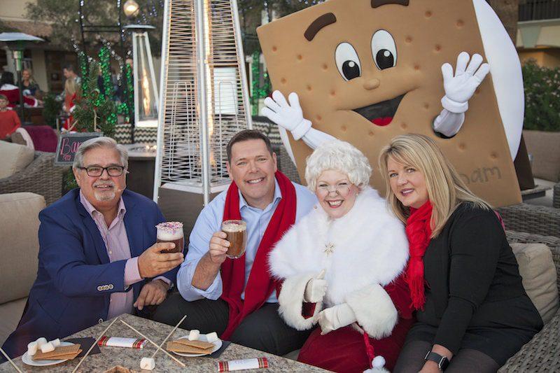 Fairmont Scottsdale Princess Christmas at the princess hot chocolate mrs. claus