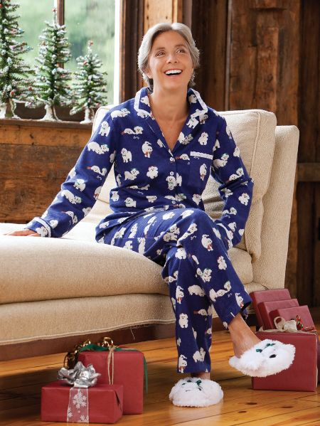 lanz puppy pajamas vermont country store