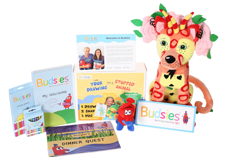 buddies gift box with plush toy steam activity