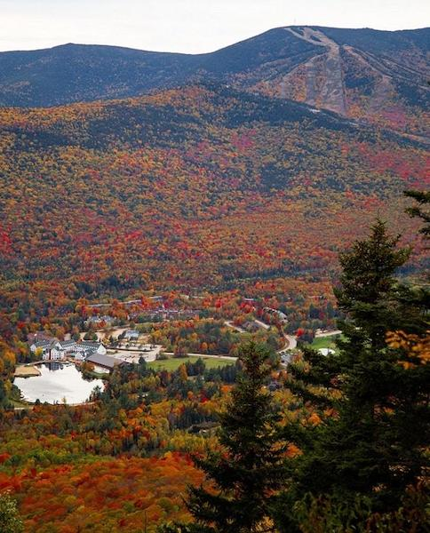 waterville valley resort new hampshire fall foliage