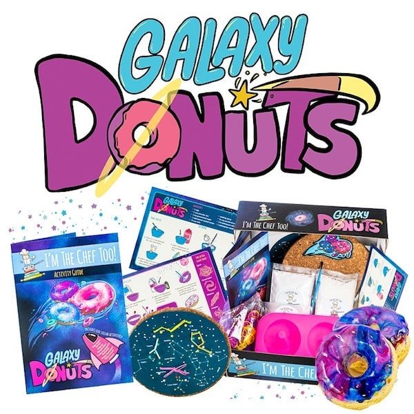 galaxy donuts I'm the chef too