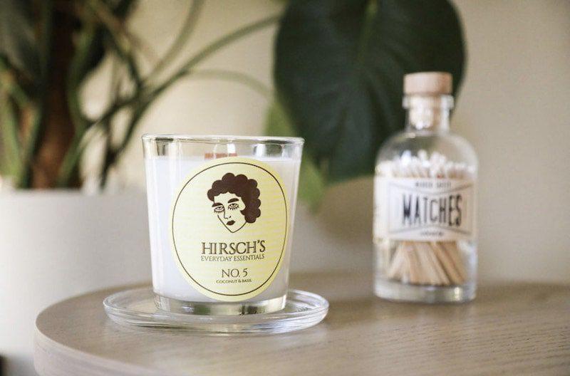 hirsch's everyday essentials candles