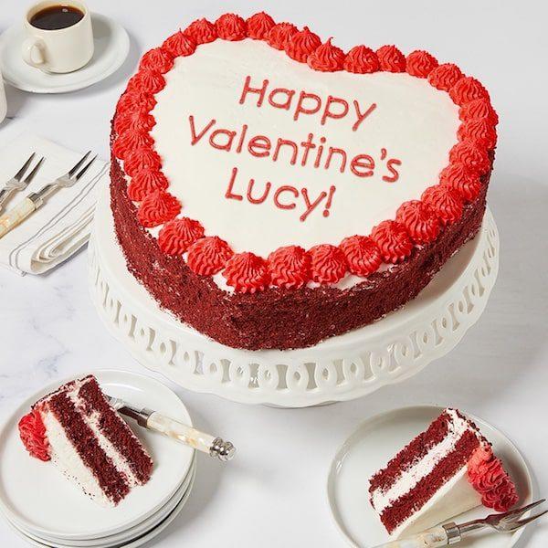 red velvet heart cake bake me a wish cake - EET Magazine