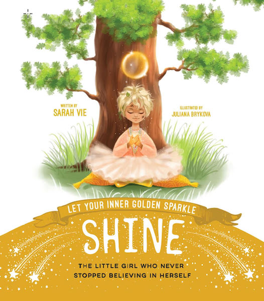 Let Your Inner Golden Sparkle Shine by Sarah Vie