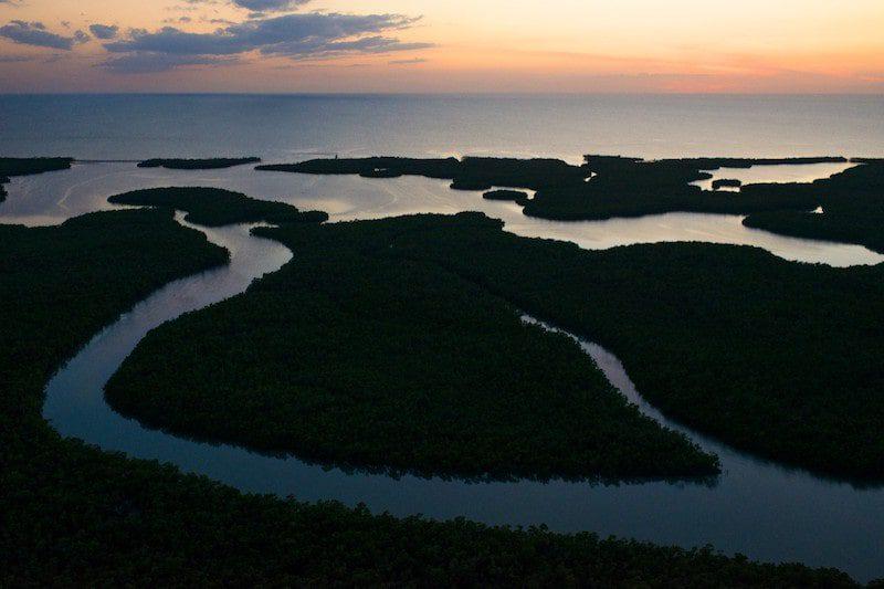 Aerials of 10,000 Islands