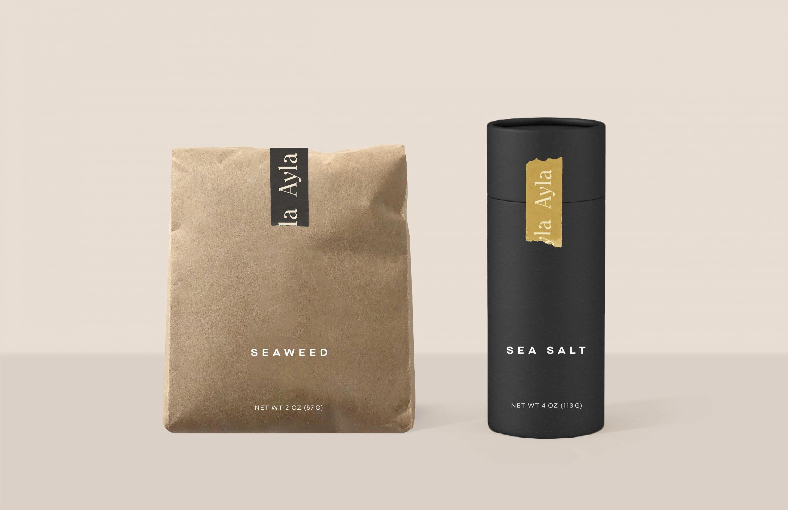 ayla packaging seaweed sea salt