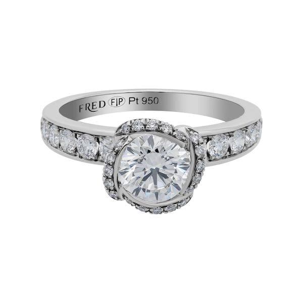fred of paris Diamond ring