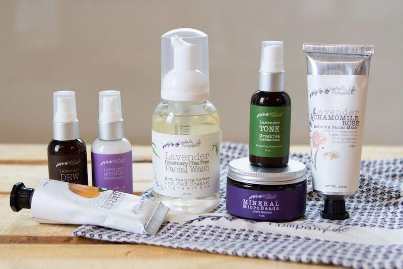 lavender derma life complete skincare set - East End Taste Magazine