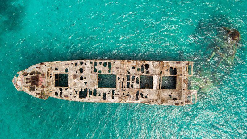 SS Sapona Shipwreck Bimini Islands Bahamas