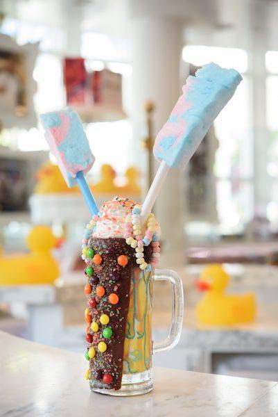 tie dye milkshake sugar factory ct