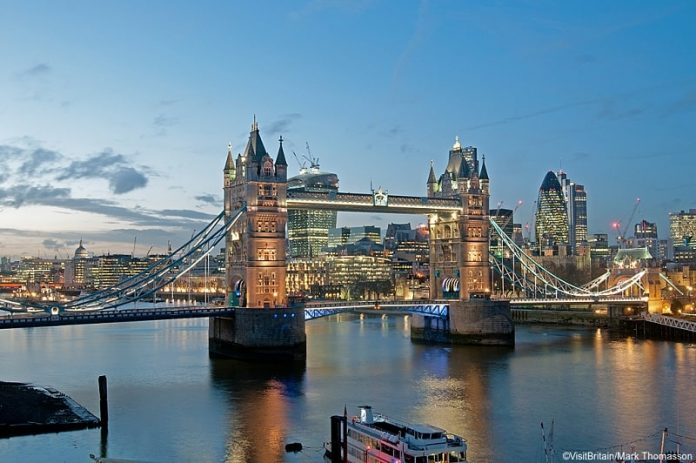 tower bridge in london sunset - East End Taste Magazine