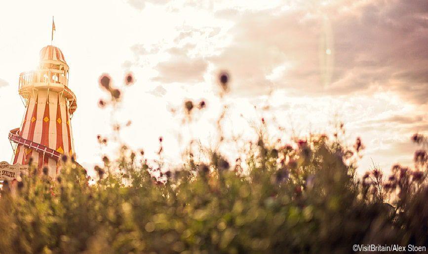 greenwich uk sunrise greenery
