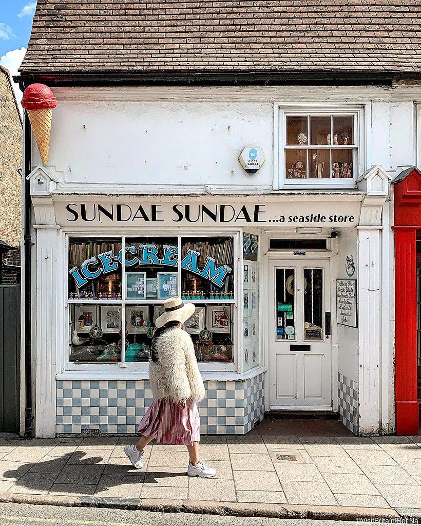 Ice Cream Shop Whitstable