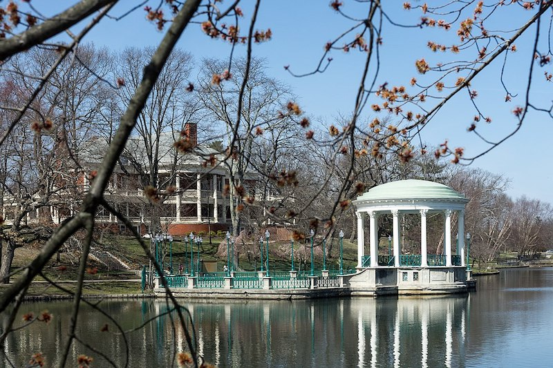Bandstand and Casino, Roger Williams Park, Providence, Rhode Island - East End Taste Magazine