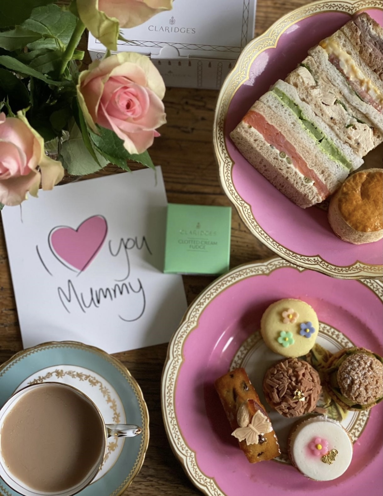 claridge's london afternoon tea take away mother's day - East End Taste Magazine