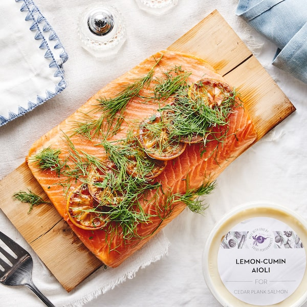 great performances passover salmon a la carte
