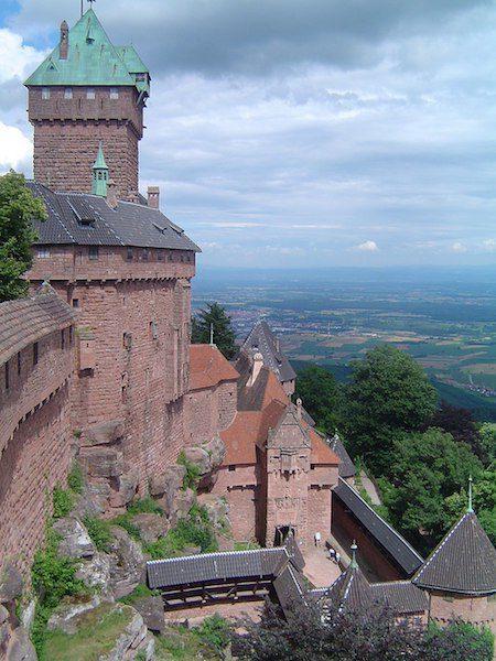 Chateau Haut Koenigsbourg family friendly france