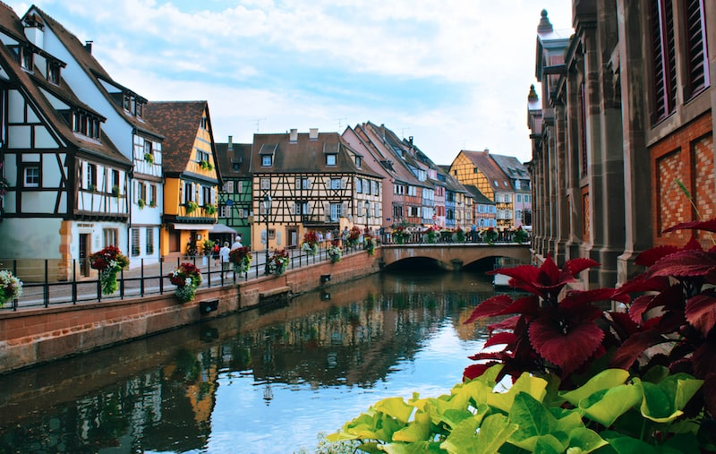 colmar france beautiful town