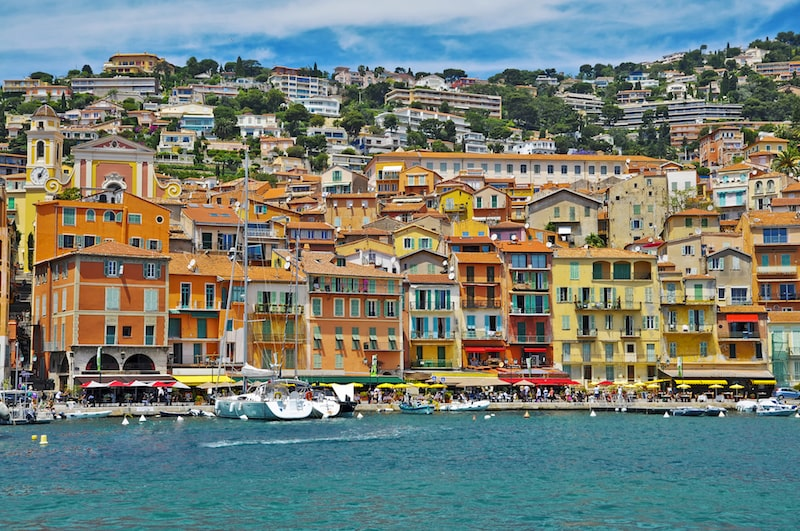 villefrance-sur-mer french riviera beautiful town villages