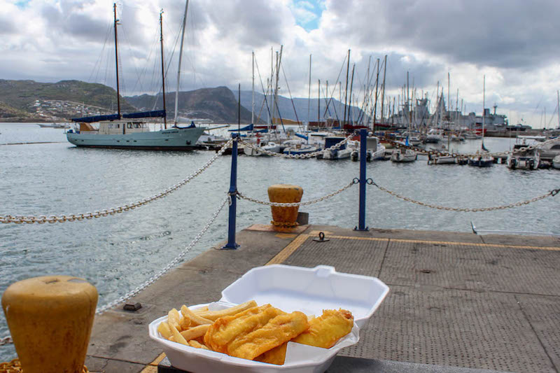 fish and chips in simons town - East End Taste Magazine
