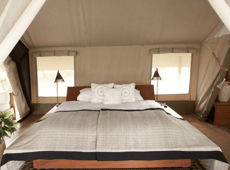 naibor camp bedroom tent