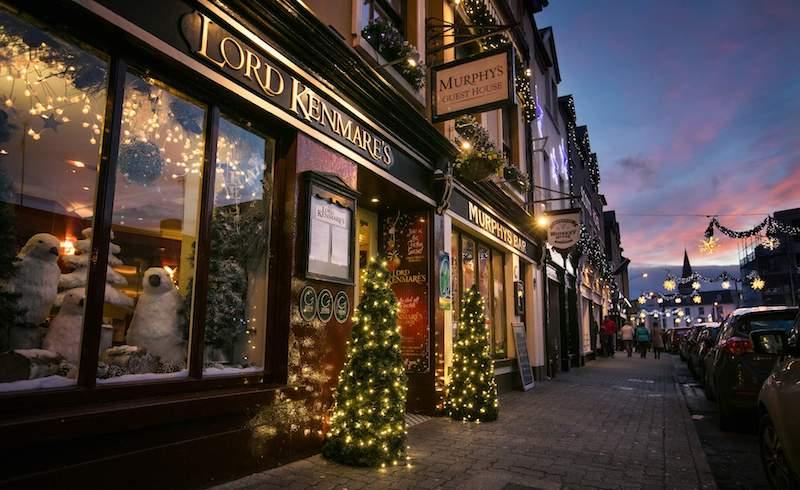 christmas in killarney kerry ireland beautiful town