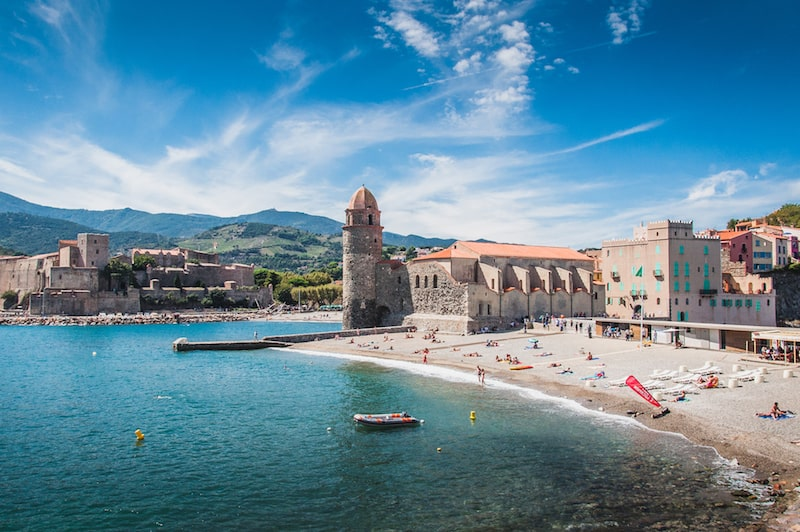 Church of Our Lady of the Angels in Collioure france