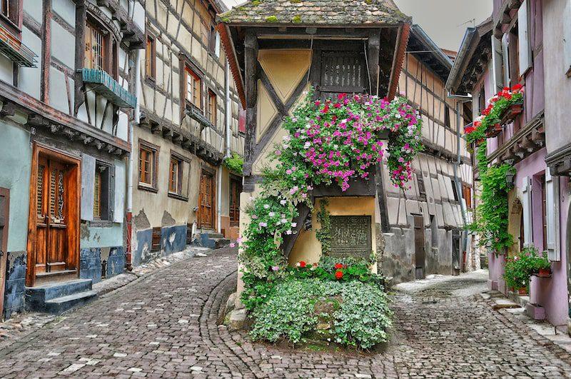 eguisheim france pretty french villages