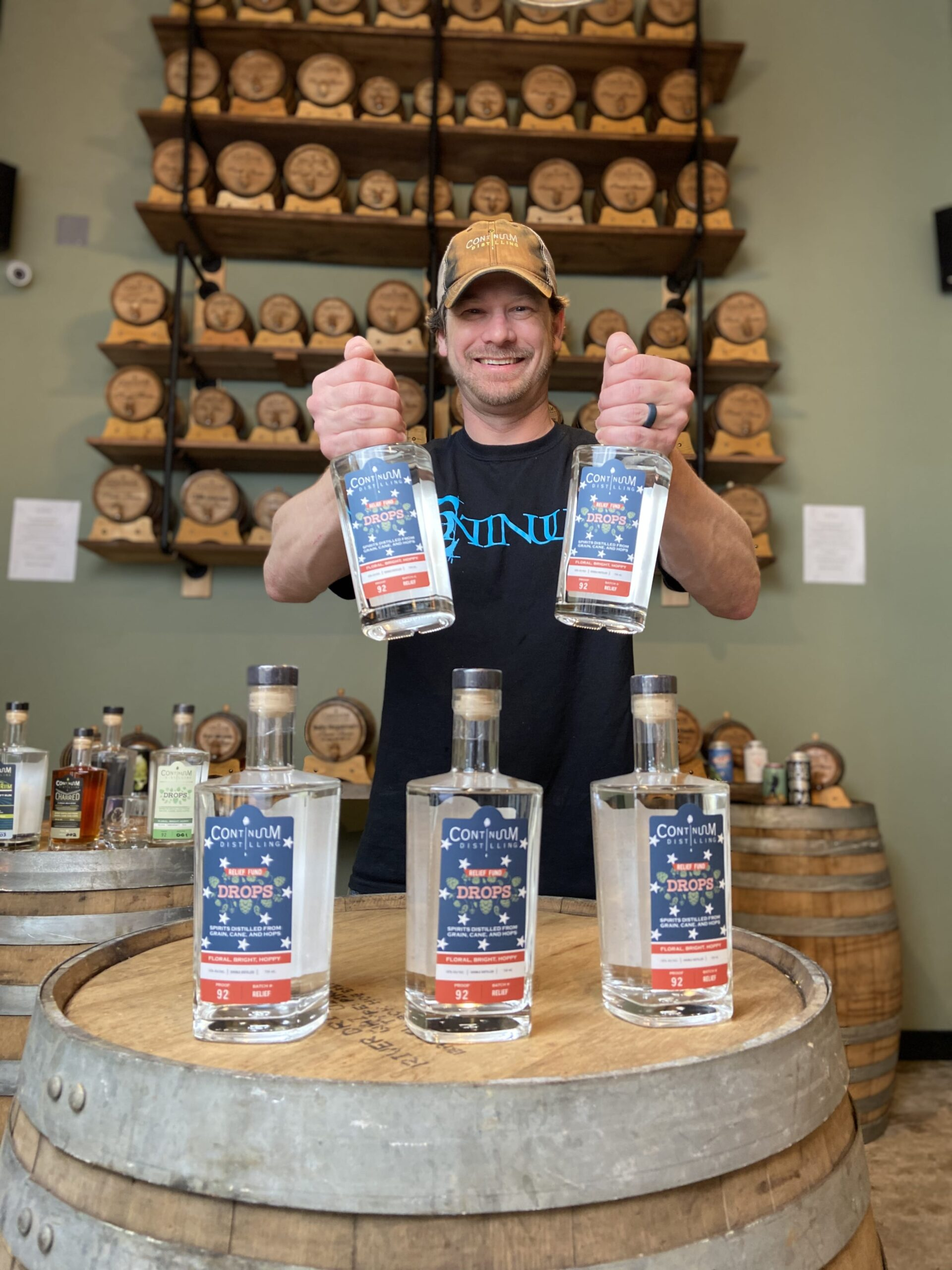 continuum seasonal spirits distillery
