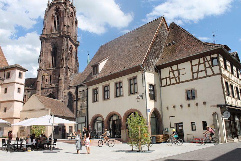 selestat city center france