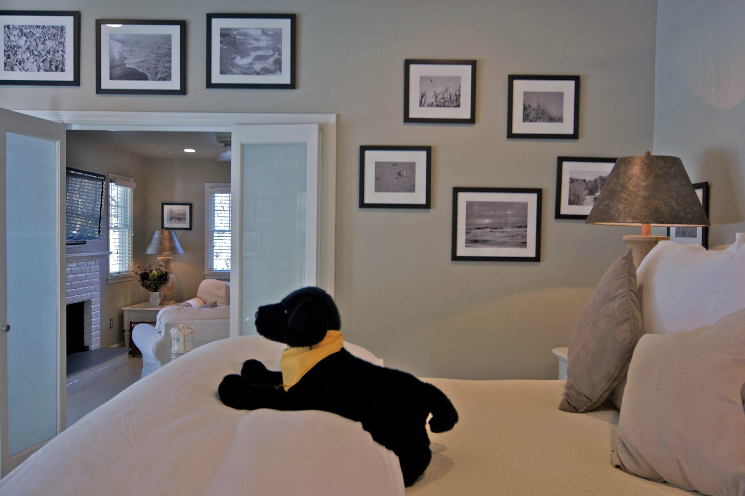 Mill House Inn Stuffed Dog