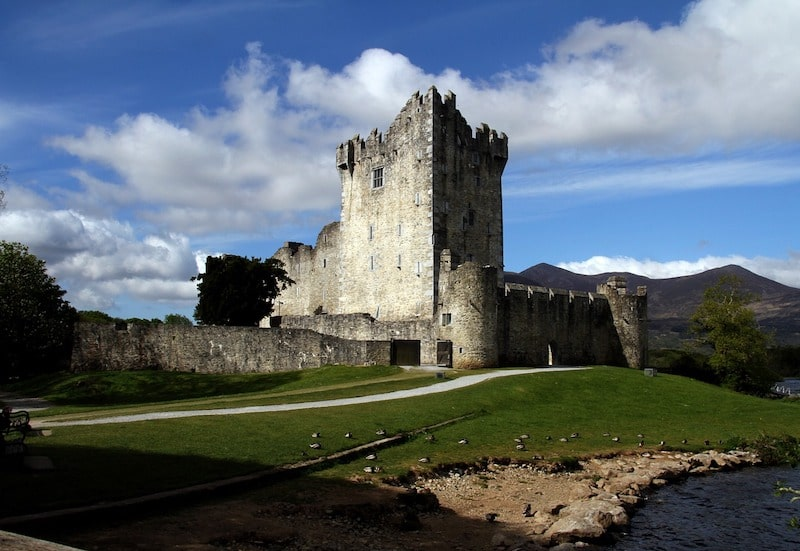 ross castle ireland enchanting castles