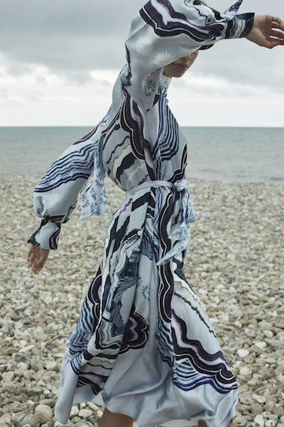 temperley london dress at the beach