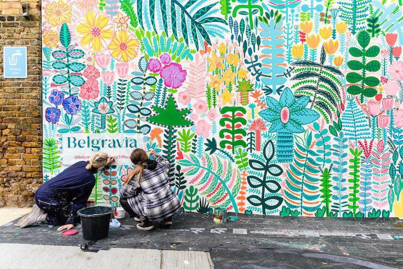 belgravia in bloom eccleston yards 2021