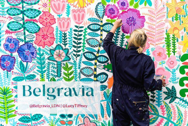 tiffney belgravia in bloom london