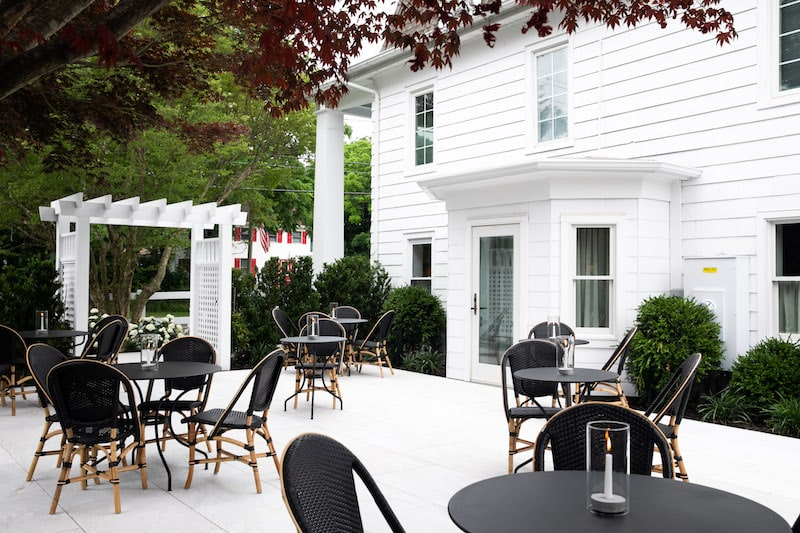 north fork table and inn east patio