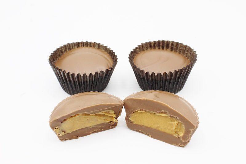 pb milk chocolate cups fascia's chocolates