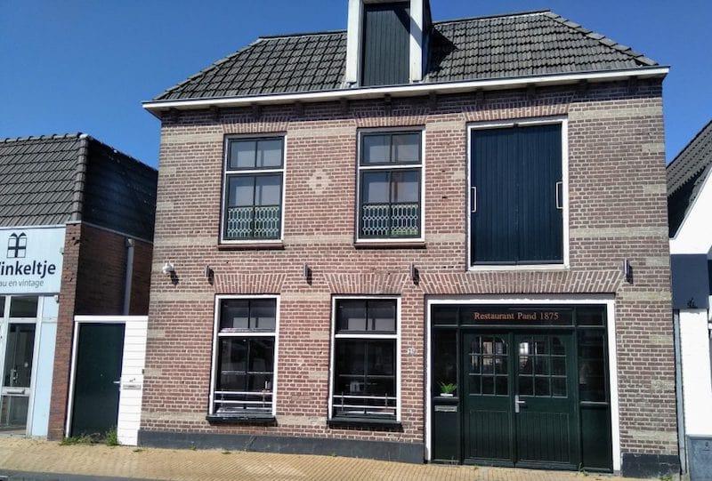 Restaurant Pand 1875 steenwijk netherlands