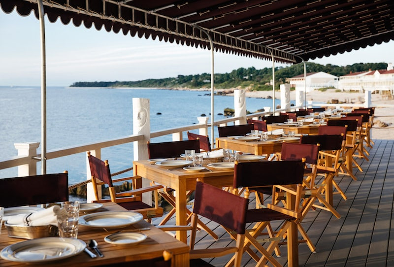 Sound view the halyard north fork outdoor dining