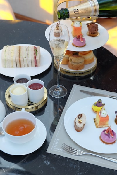 the connaught jean-gorges afternoon tea