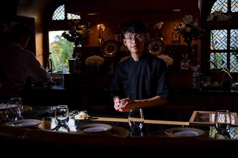 chef sushi by bou miami beach versace mansion
