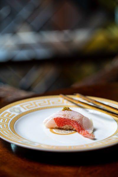 versace mansion sushi omakase tasting