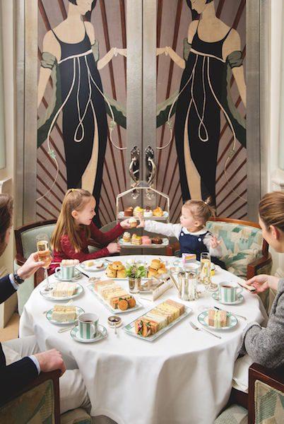 afternoon tea claridge's hotel london