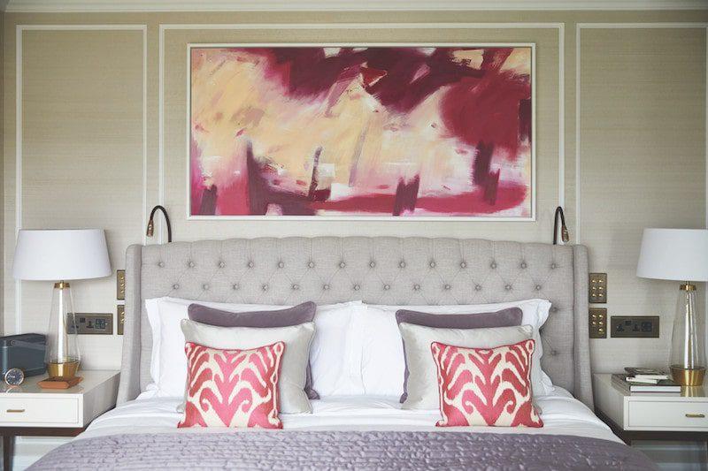 The Cadogen London bedroom