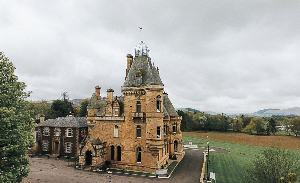 Cornhill castle hotel Scotland uk