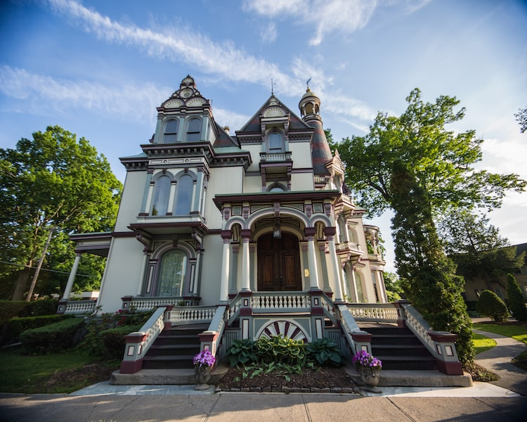 batheller mansion saratoga springs new york