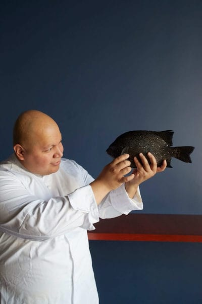 chef mark kissaki fish cheeks montauk