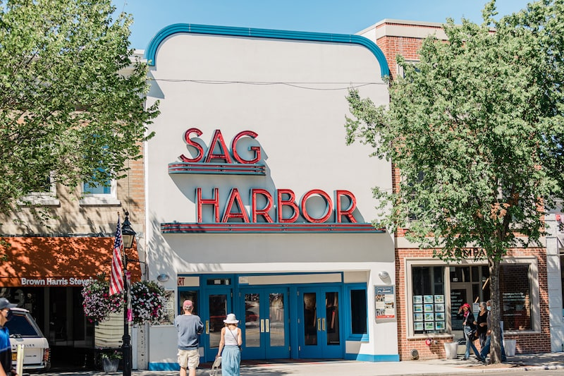 sag harbor cinema new york most beautiful towns