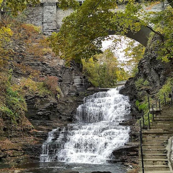 ithaca town falls